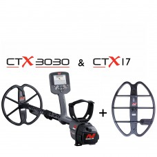 "Minelab CTX3030 + 17"" Search Coil"
