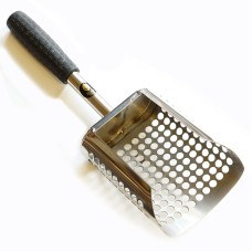 Black Ada Sand Scoop - stainless steel