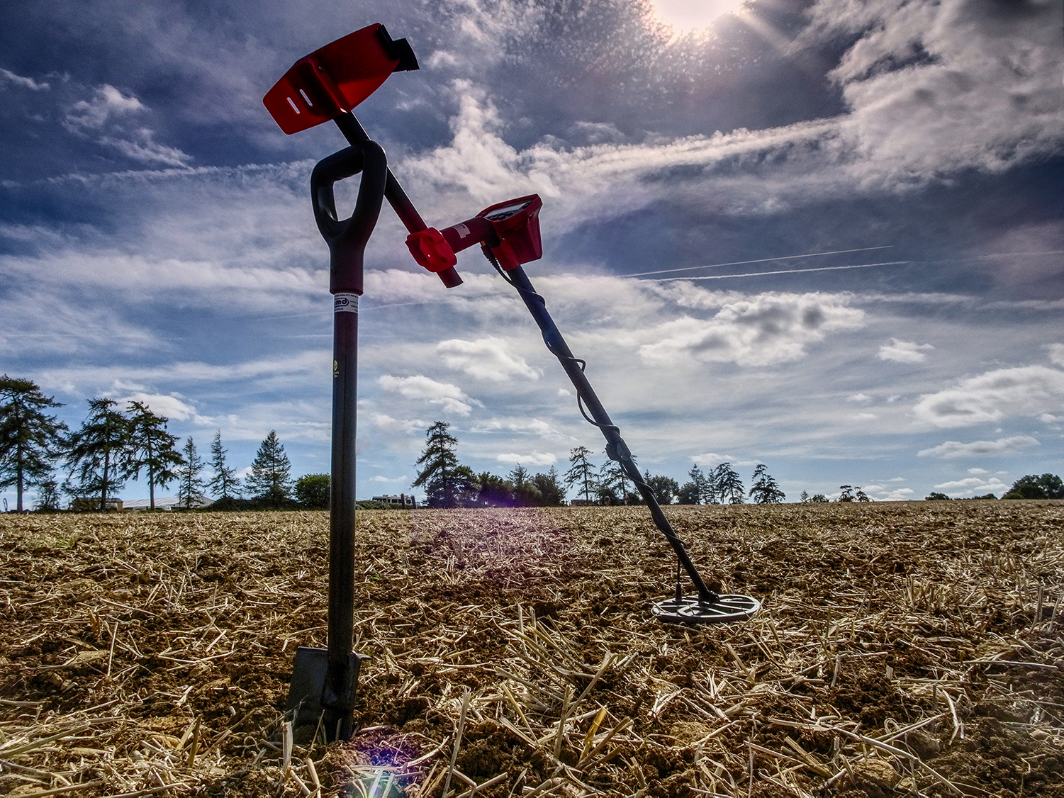 Minelab Vanquish 540 in the field